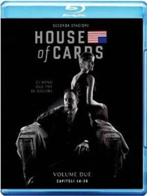 COF.HOUSE OF CARDS - STAGIONE 02 (4 BLU RAY)