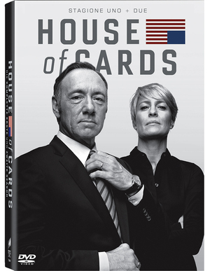 COF.HOUSE OF CARDS - STAGIONE 01-02 (8 DVD) (DVD)