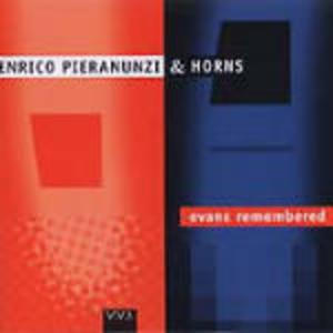ENRICO PIERANUNZI - EVANS -REMEMBERED (CD)