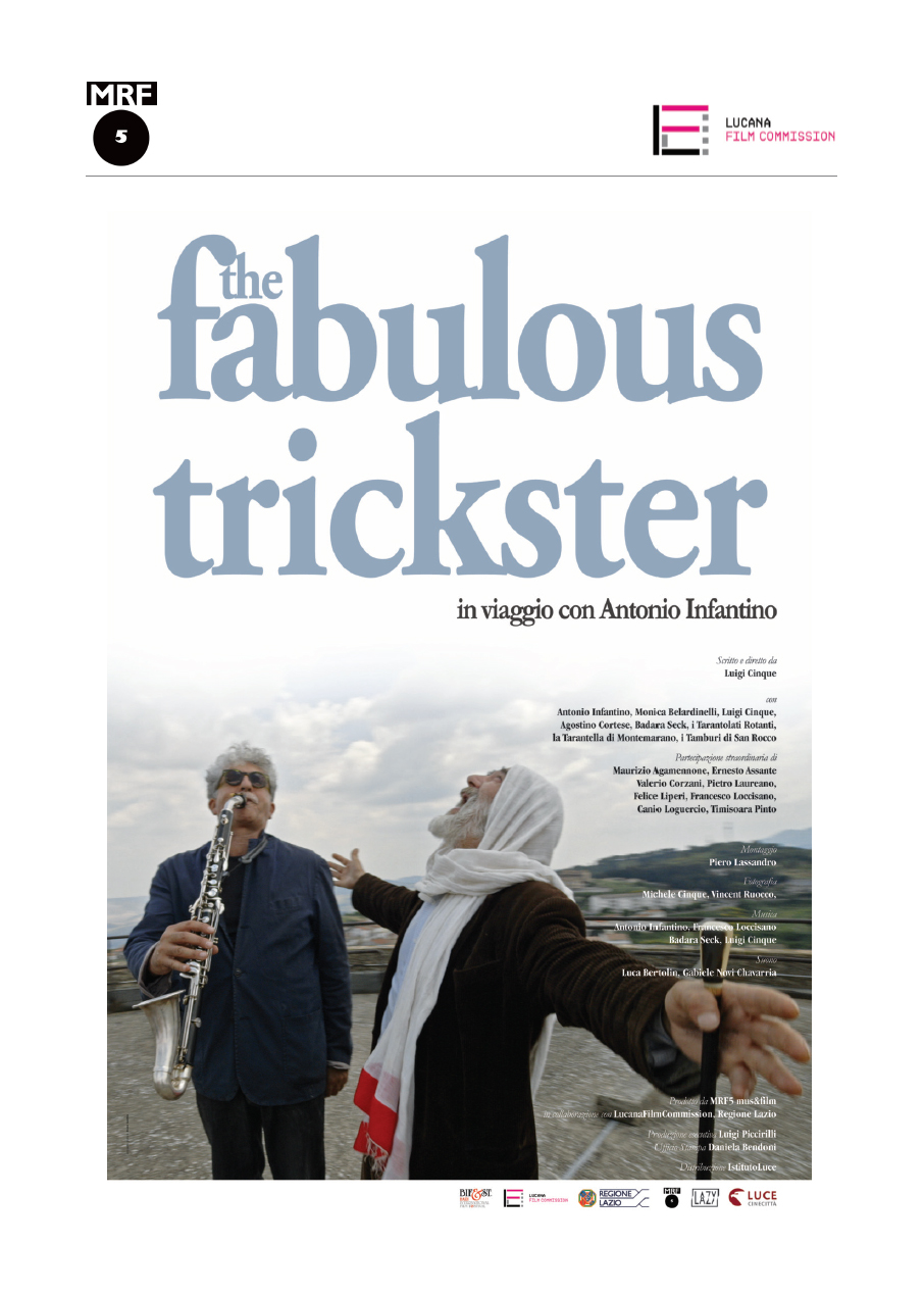 THE FABULOUS TRICKSTER - IN VIAGGIO CON ANTONIO INFANTINO (DVD+B