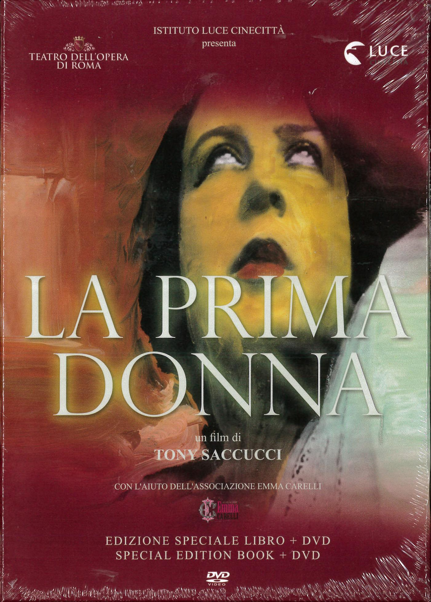 LA PRIMA DONNA (DVD+LIBRO) (DVD)