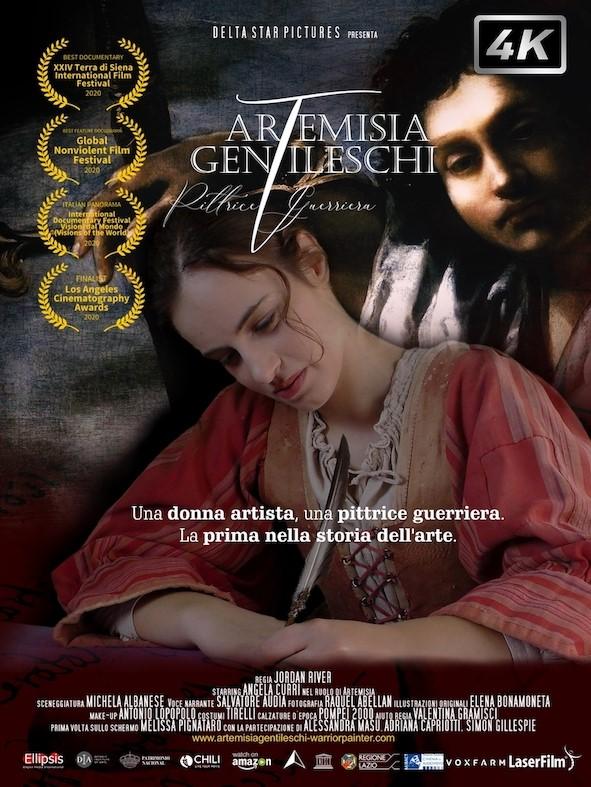 ARTEMISIA GENTILESCHI PITTRICE GUERRIERA (DVD+LIBRO) (DVD)