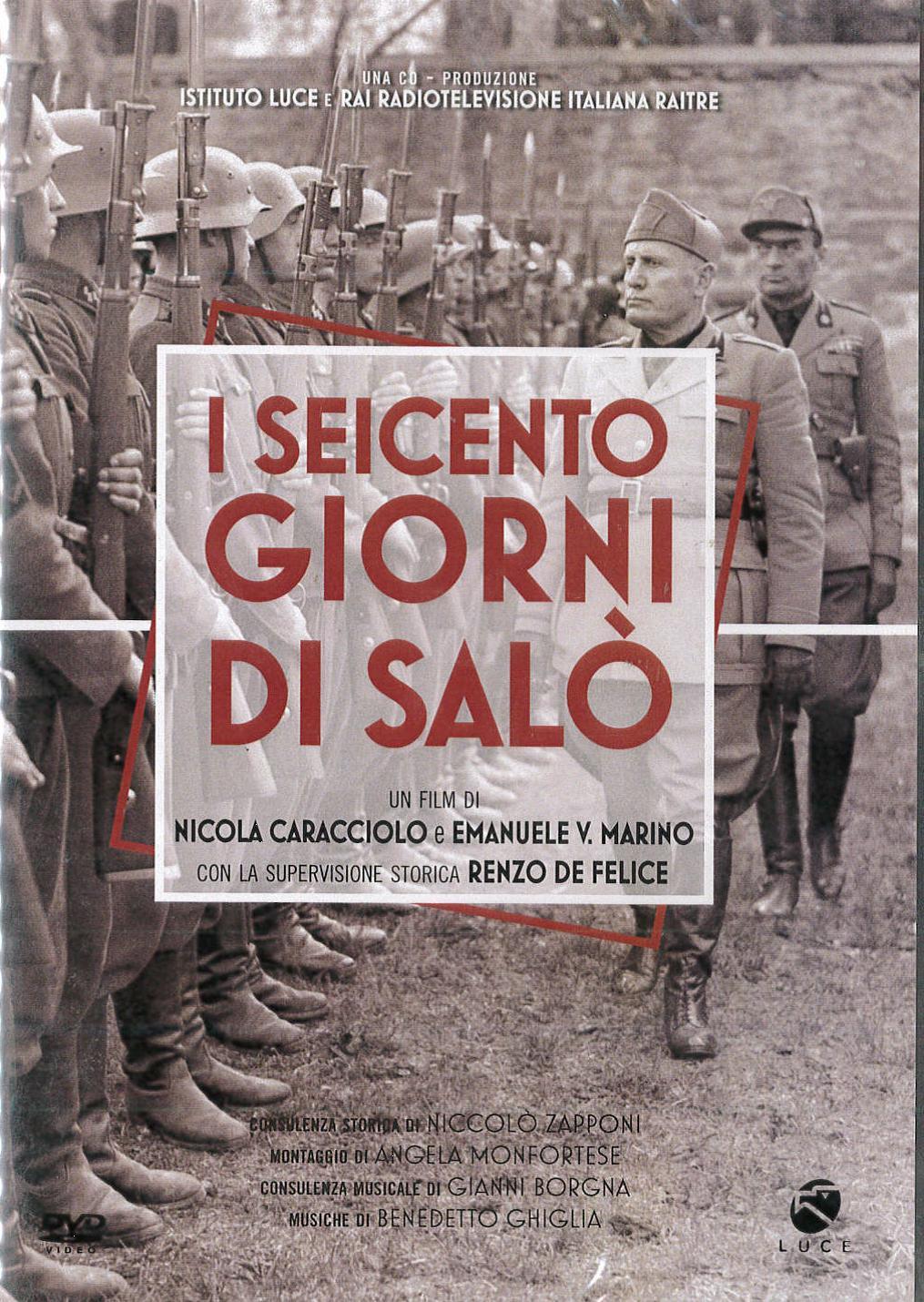 I 600 GIORNI DI SALO' (DVD)
