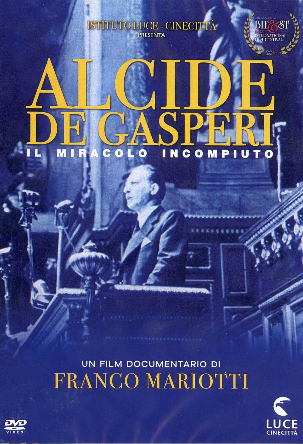 ALCIDE DE GASPERI - IL MIRACOLO INCOMPIUTO (DVD)