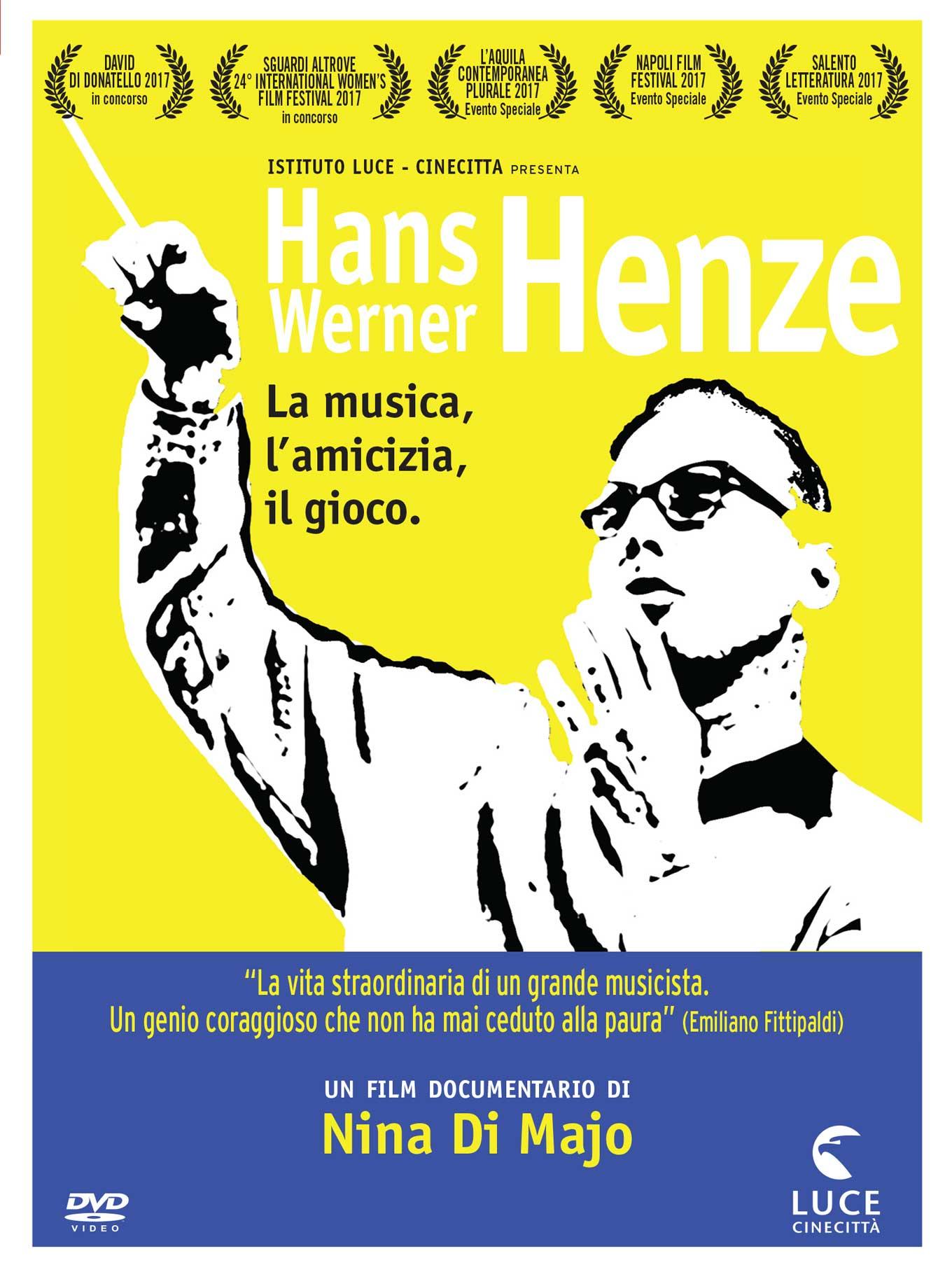 HANS WERNER HENZE - LA MUSICA, L'AMICIZIA, IL GIOCO (DVD)