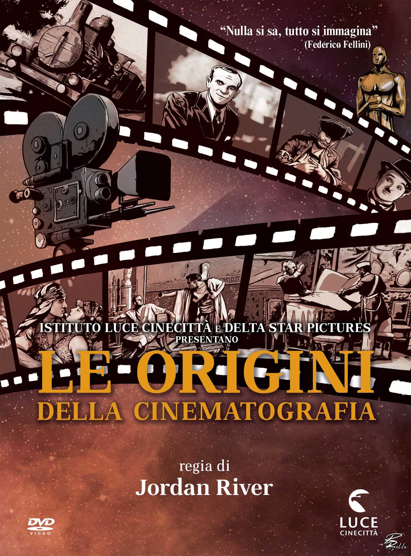 LE ORIGINI DELLA CINEMATOGRAFIA (DVD)