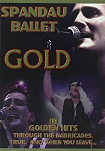 SPANDAU BALLET - GOLD 18 GOLDEN HITS (DVD)