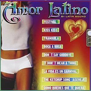 AMOR LATINO BY LATIN SOUND (CD)