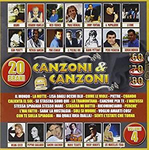 CANZONI & CANZONI VOL. 4 VOGLIO AMARTI COSI (CD)