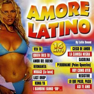 AMORE LATINO BY LATIN SOUND (CD)