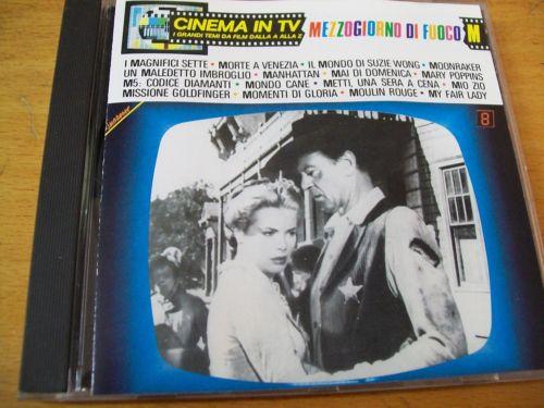 CINEMA IN TV VOL.8 MEZZOGIORNO DI FUOCO (CD)