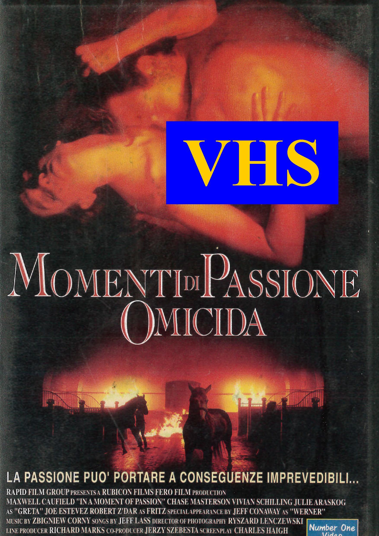 MOMENTI DI PASSIONE OMICIDA (VHS)