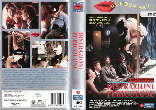 DISTRAZIONI PERICOLOSE (VHS USATA EX NOLEGGIO) (VHS)