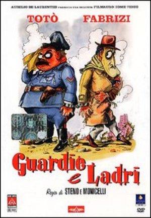 TOTO' GUARDIE E LADRI (DVD)