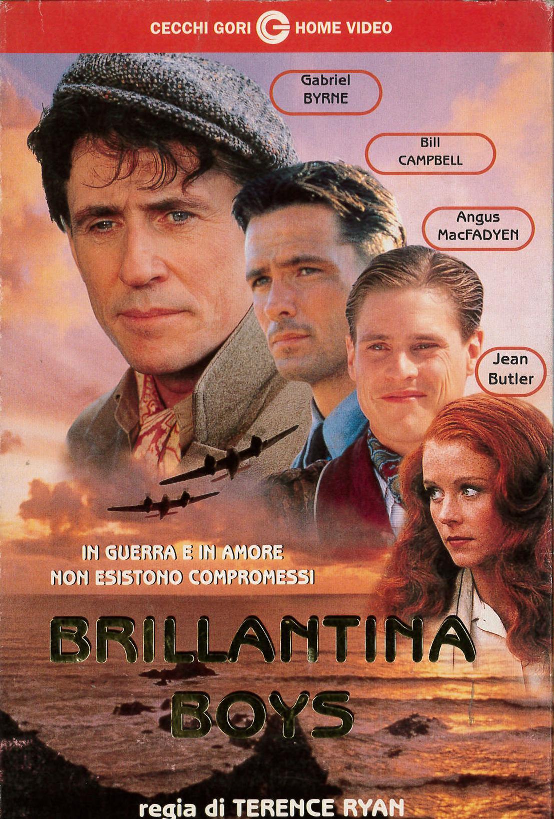 BRILLANTINA BOYS - VHS EX NOLEGGIO (VHS)