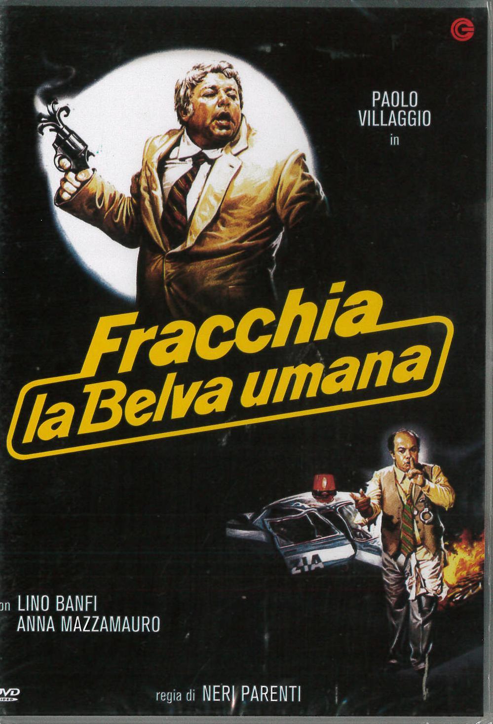 FRACCHIA LA BELVA UMANA (DVD)