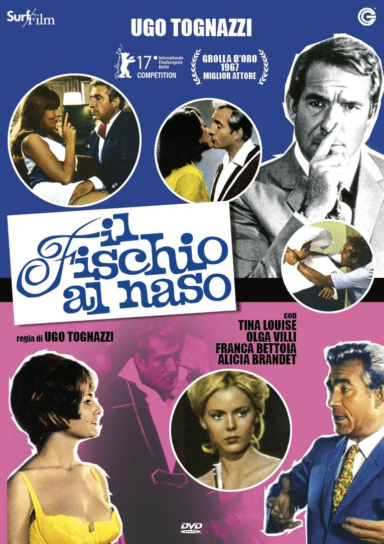 IL FISCHIO AL NASO (DVD)