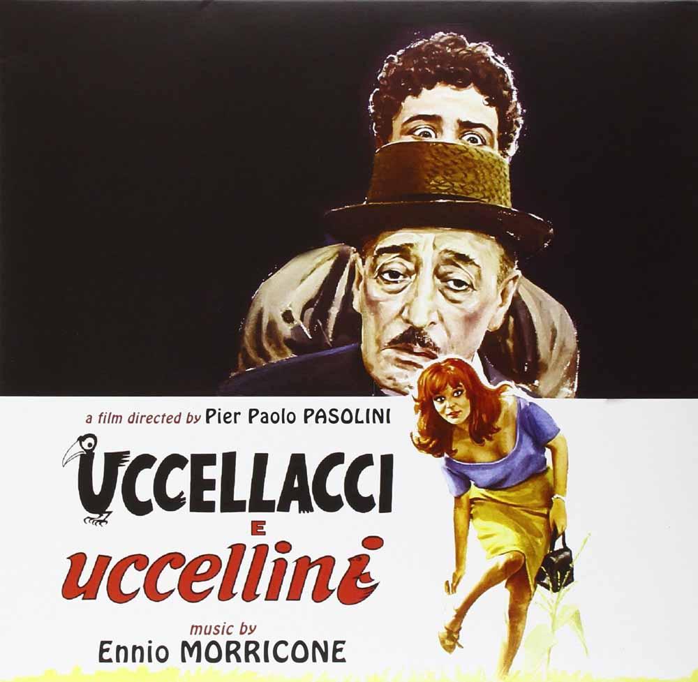 "ENNIO MORRICONE - UCCELLACCI E UCCELLINI (10"" BLACK VINYL) (LP)"