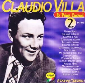 CLAUDIO VILLA - LE PRIME CANZONI 2 1948 (CD)