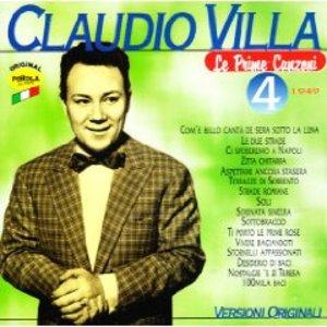 CLAUDIO VILLA - LE PRIME CANZONI 4 1949 (CD)