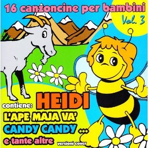 16 CANZONCINE PER BAMBINI VOL.3 HEIDI (CD)