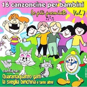 16 CANZONCINE PER BAMBINI VOL.7 (CD)