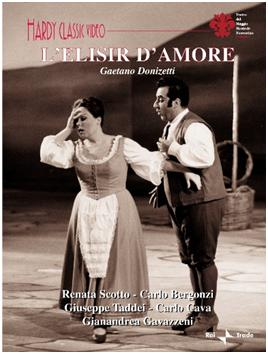 L' ELISIR D'AMORE - GAETANO DONIZETTI (DVD)