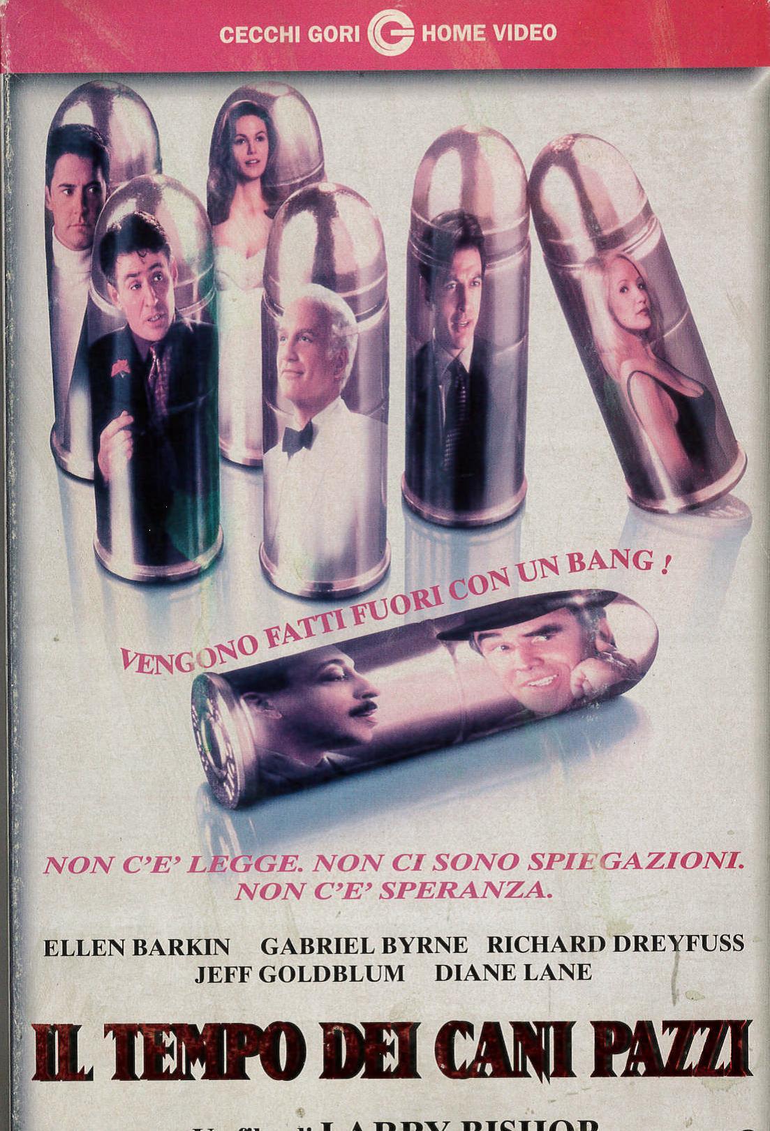 IL TEMPO DEI CANI PAZZI - VHS EX NOLEGGIO (VHS)