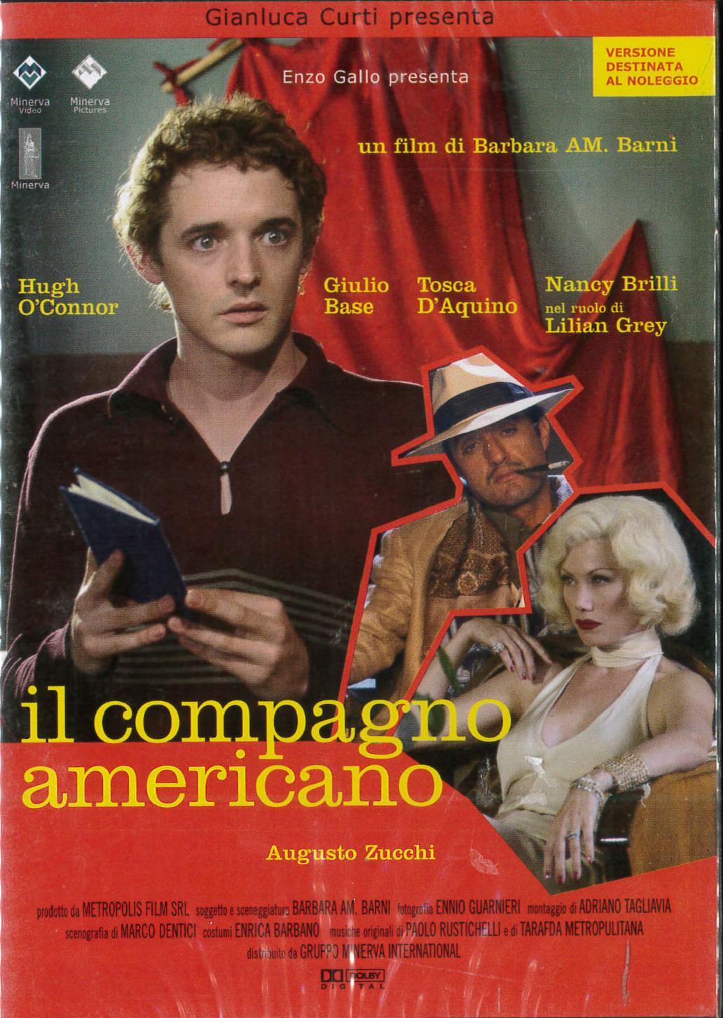 IL COMPAGNO AMERICANO (DVD)