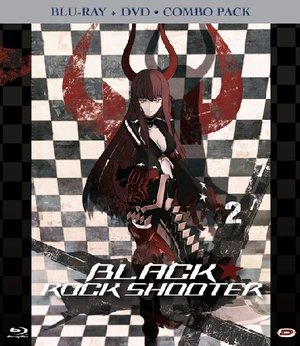 BLACK ROCK SHOOTER #02 (EPS 05-08) (BLU-RAY+DVD)