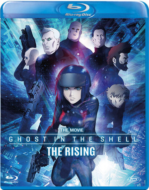 GHOST IN THE SHELL - THE RISING (BLU RAY)
