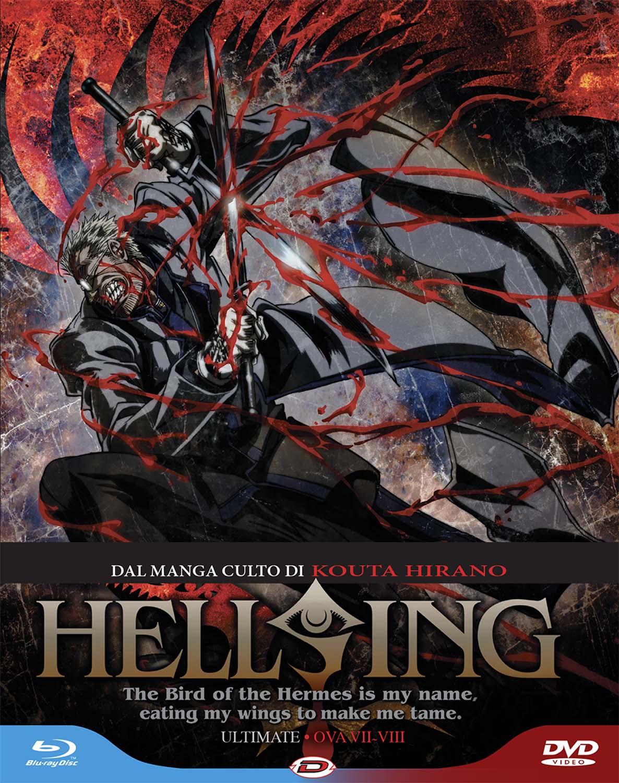 COF.HELLSING ULTIMATE #04 OVA 7-8 (BLU-RAY+DVD)