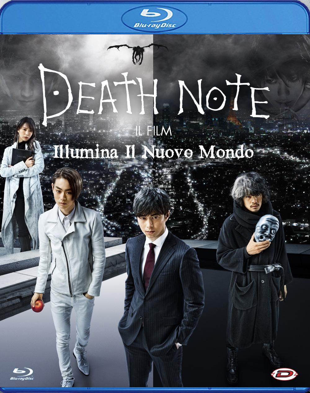 DEATH NOTE - IL FILM - ILLUMINA IL NUOVO MONDO - BLU RAY