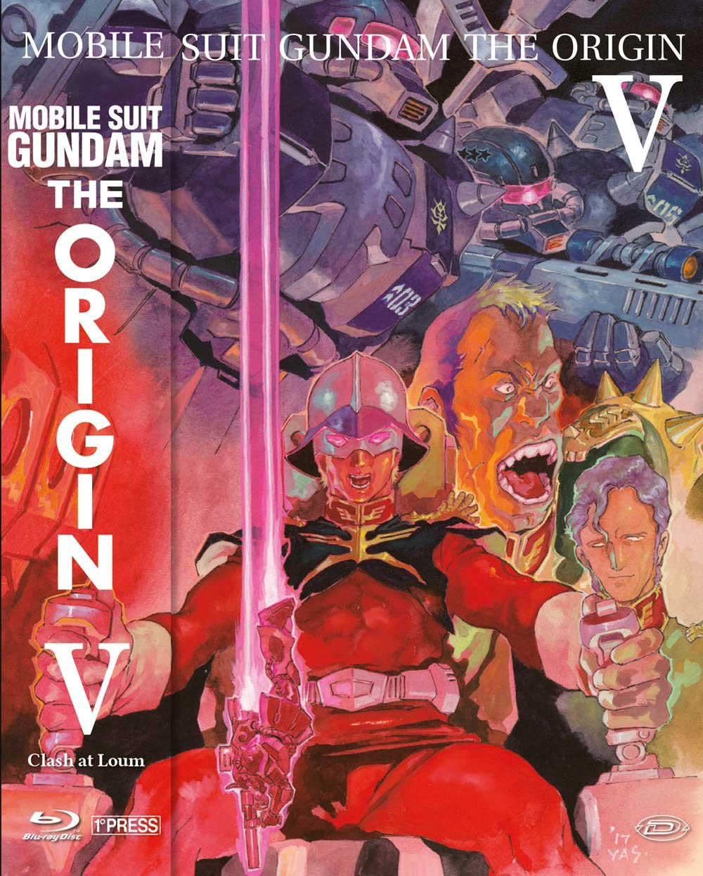 COF.MOBILE SUIT GUNDAM - THE ORIGIN V - CLASH AT LOUM (FIRST PRESS)