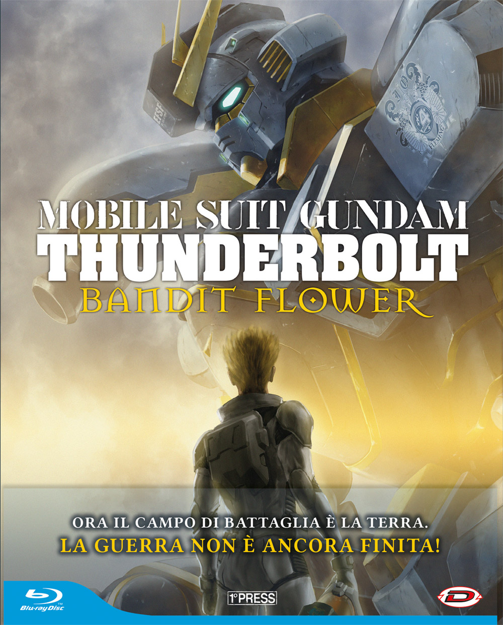 COF. MOBILE SUIT GUNDAM THUNDERBOLT THE MOVIE - BANDIT FLOWER (FIRST PRESS)