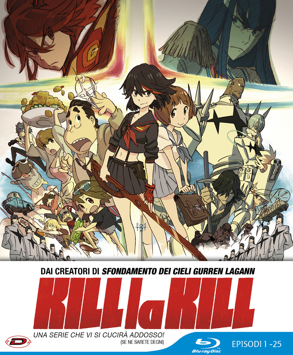COF.KILL LA KILL - LIMITED EDITION (EPS 01-25) (4 BLU-RAY)
