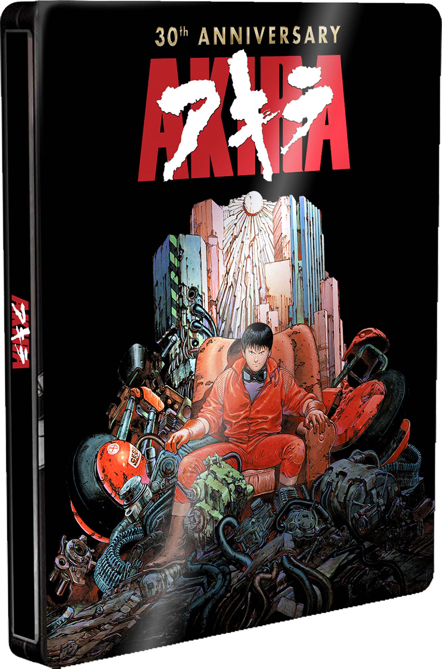 COF.AKIRA - 30TH ANNIVERSARY EDITION STEELBOOK (BLU-RAY+DVD+BOOK