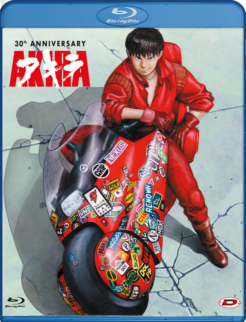 AKIRA - 30TH ANNIVERSARY (STANDARD EDITION) - BLU RAY