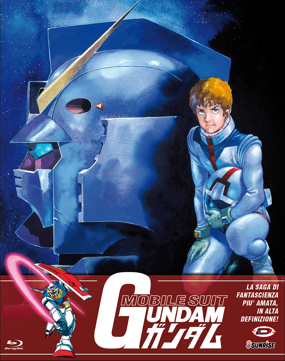 COF.MOBILE SUIT GUNDAM - THE COMPLETE SERIES (EPS 01-42) (5 BLU-
