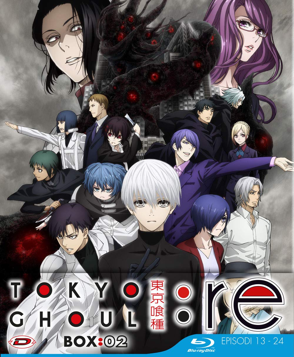 COF.TOKYO GHOUL: RE - STAGIONE 03 BOX 02 (EPS 13-24) (3 BLU-RAY)