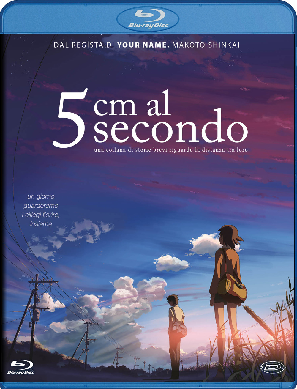 5 CM AL SECONDO (STANDARD EDITION) - BLU RAY