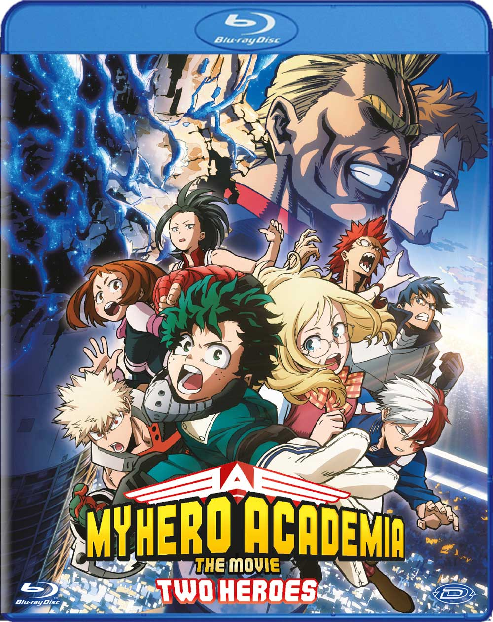 MY HERO ACADEMIA - THE MOVIE - TWO HEROES - BLU RAY
