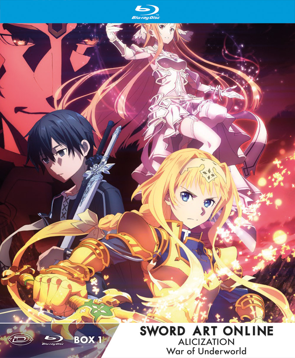 COF.SWORD ART ONLINE ALICIZATION WAR OF UNDERWORLD - LTD BOX #01