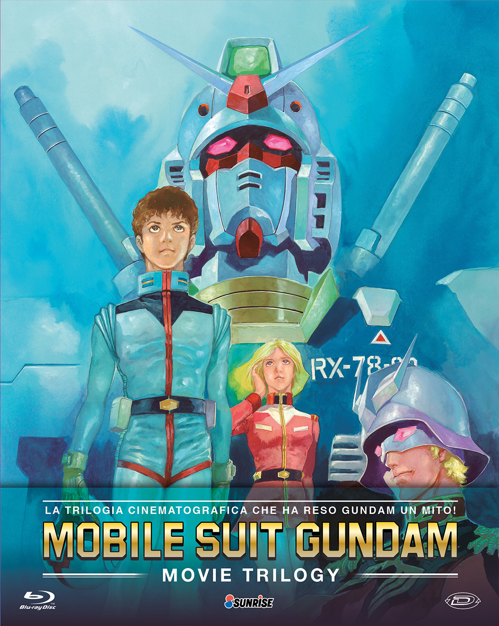 COF.MOBILE SUIT GUNDAM - THE MOVIES COLLECTION (3 BLU-RAY)