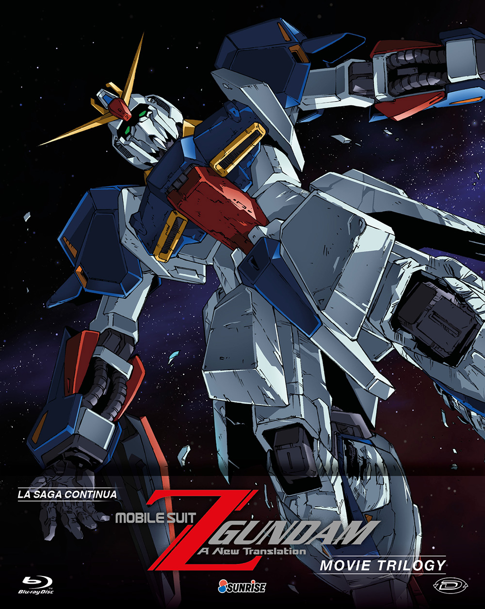 COF.MOBILE SUIT Z GUNDAM - THE MOVIES COLLECTION (3 BLU-RAY)