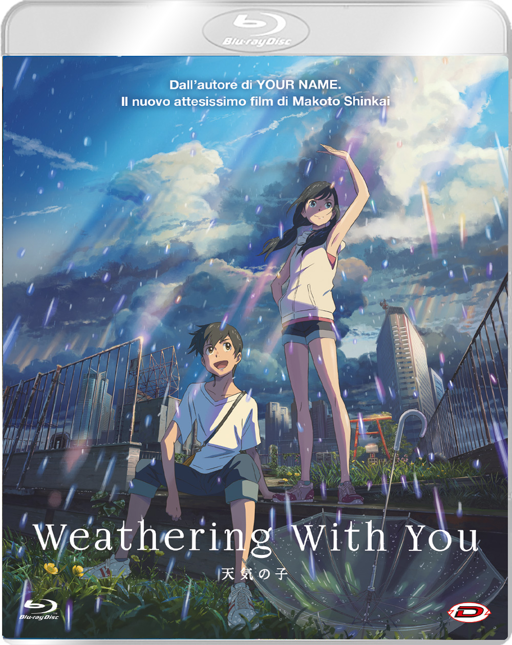 WEATHERING WITH YOU - BLU RAY