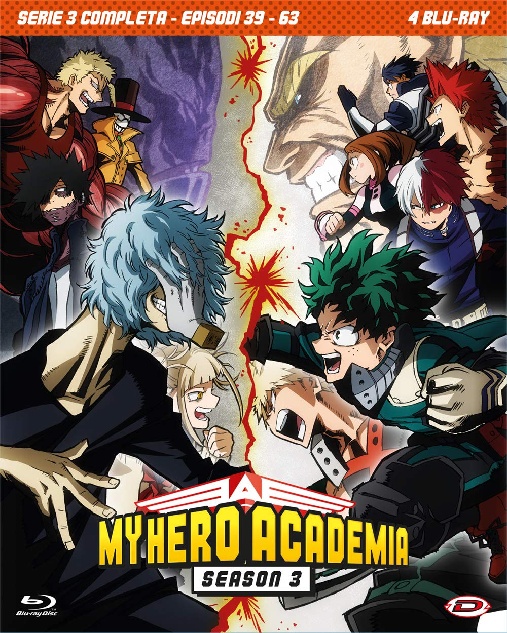 COF.MY HERO ACADEMIA - STAGIONE 03 THE COMPLETE SERIES (EPS 39-6