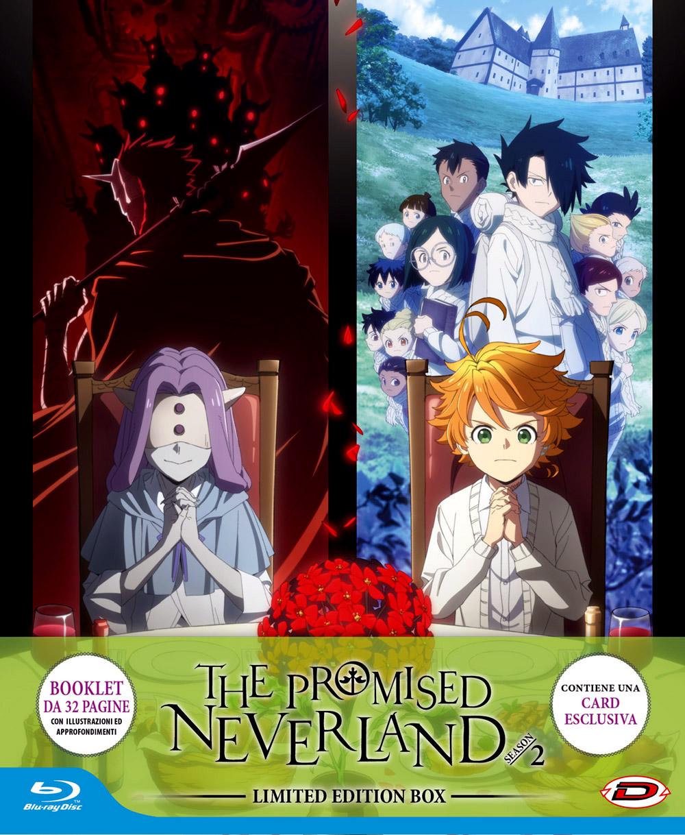 COF.THE PROMISED NEVERLAND - SEASON 02 (EPS 01-11) (3 BLU-RAY) (