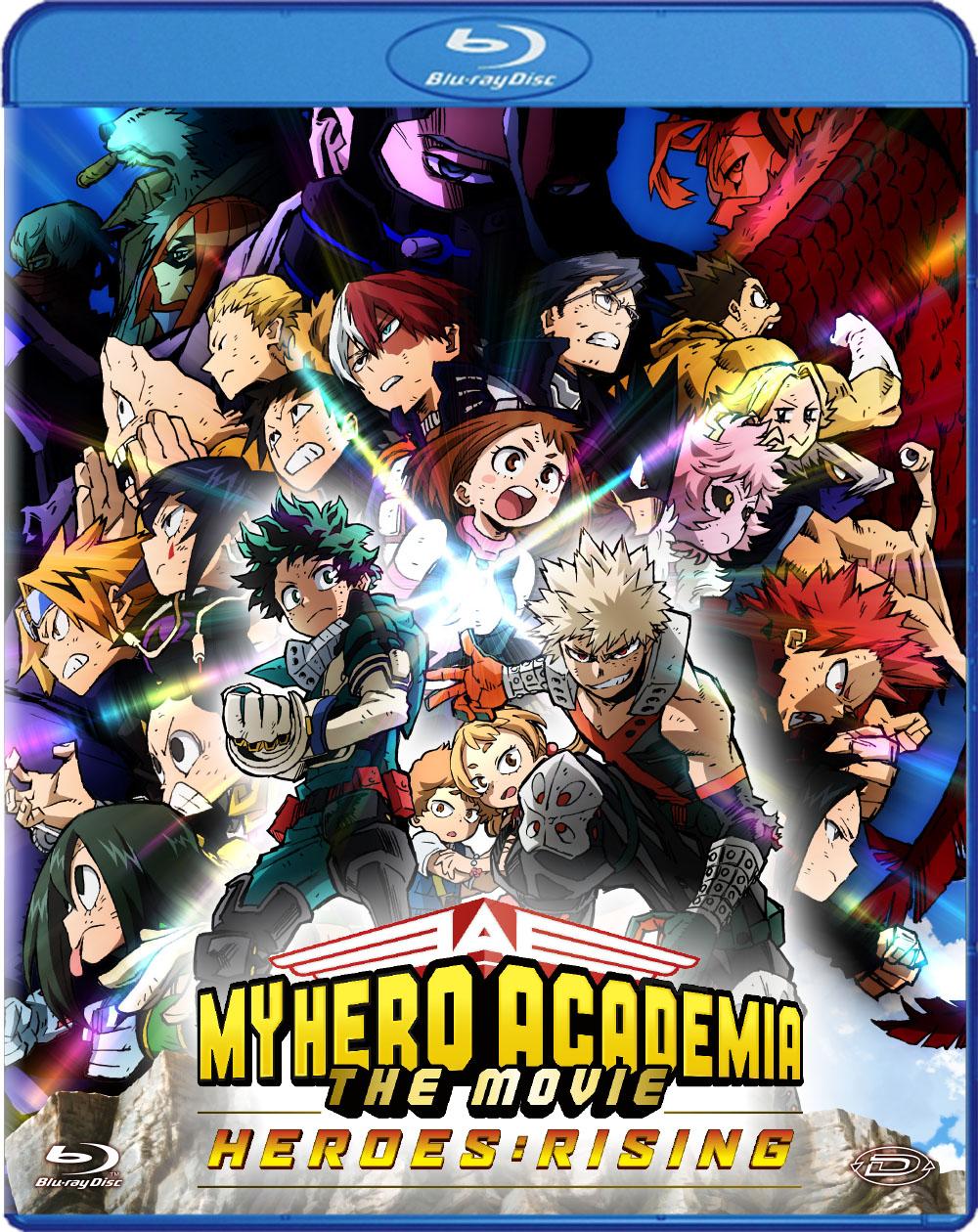 MY HERO ACADEMIA - THE MOVIE - HEROES: RISING - BLU RAY