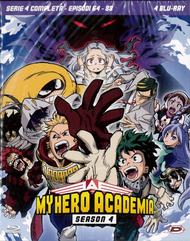 COF.MY HERO ACADEMIA - STAGIONE 04 THE COMPLETE SERIES (EPS 64-8